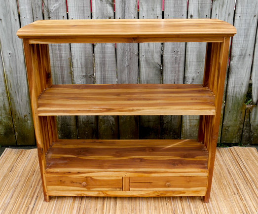 Exhibitionist Auckland Store Teak Bookshelf Low