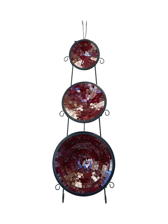 exhibitionist-store-auckland-mosaic-plate-round-red